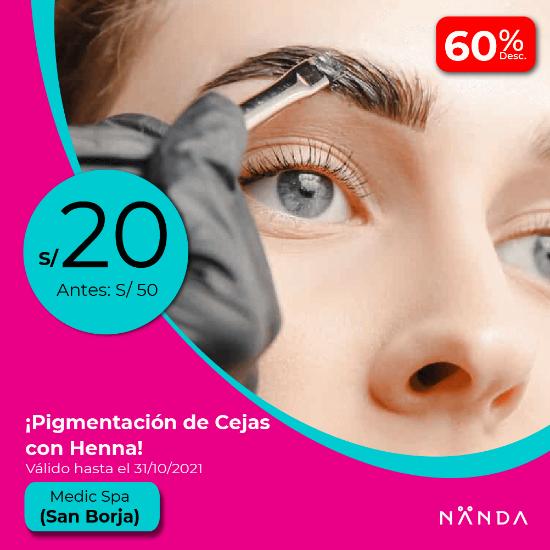 ¡Pigmentación de Cejas con Henna! 😍 - Medic Spa (SAN BORJA)